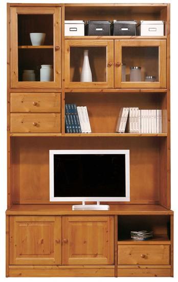 Librerie Componibili rustiche, Libreria porta tv H234, Arredamenti ...