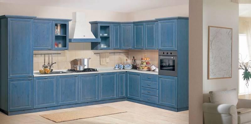 Cucine rustica composizione angolare arredamenti rustici - Composizione cucina ad angolo ...